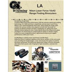 Nikon Laser Force 10x42 Range Finding Binoculars