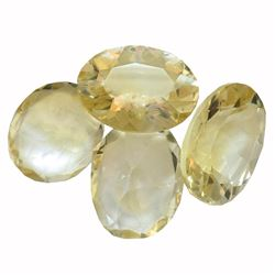 30.41 ctw Oval Mixed Citrine Quartz Parcel