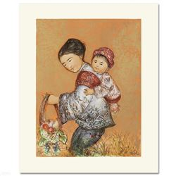 The Fruit Seller by Hibel (1917-2014)