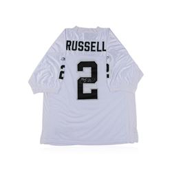 Oakland Raiders JaMarcus Russell Autographed Jersey