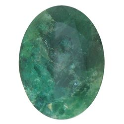 7.03 ctw Oval Emerald Parcel