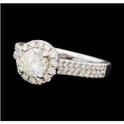 1.39 ctw Diamond Ring - 14KT White Gold
