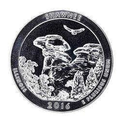 2016 5oz Silver ATB Shawnee Illinois Silver Coin