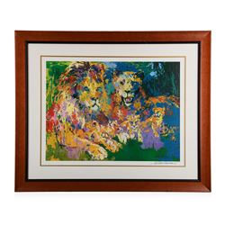 """""""Lion's Pride"""" by Leroy Neiman"""