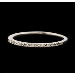 0.12 ctw Diamond Ring - 10KT White Gold