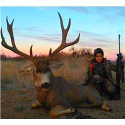 Mule Deer Hunt For One Hunter 2020