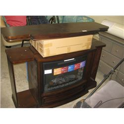 WELL UNIVERSAL - ELECTRIC FIRE PLACE W/ INFRARED HEATING AND REMOTE SETTINGS