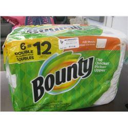 BOUNTY -  PAPER TOWELS 6 ROLL