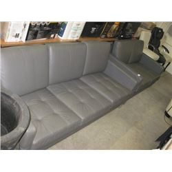 MODERN GREY COUCH & LOVE SEAT