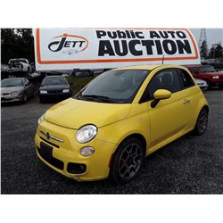 C1 --   2014 Fiat 500 , Yellow , 96094  KM's