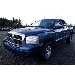 F4 --  2006 Dodge Dakota SLT , Blue , 245001  KM's