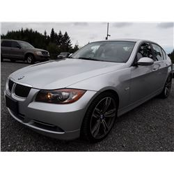 D5 --  2007 BMW 335I , Silver , 186541  KM's