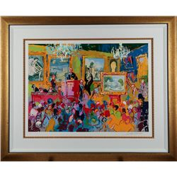 Leroy Neiman International Auction Limited Edition Signed Serigraph