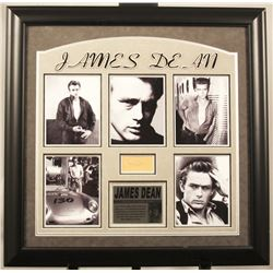 James Dean Autographed Photo Collage