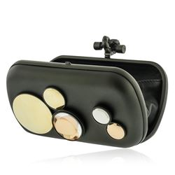 Bottega Veneta Mirror Lens Knot Clutch