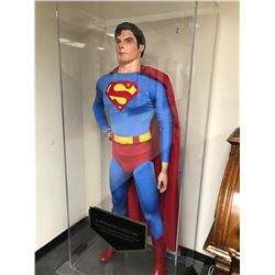 Original Superman Costume Worn by Christopher Reeve