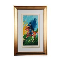 """The Equestrienne"" by LeRoy Neiman - Limited Edition Serigraph"
