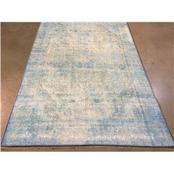 VINTAGE REPRODUCTION DESIGN AREA RUG 6x8