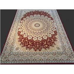 STUNNING PREMIUM  PERSIAN DOME PATTERN AREA RUG 8x11