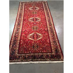 FINE AUTHENTIC PERSIAN KARAJEH RUG 5x11