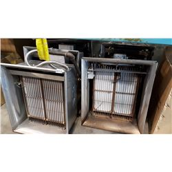 5 RADIANT NATURAL GAS COMMERCIAL OVERHEAD 30000 BTU HEATERS