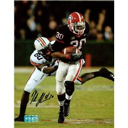 Kelin Johnson Signed Georgia 8x10 Photo (Radtke COA)