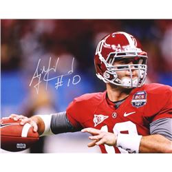 AJ McCarron Signed Alabama 16x20 Photo (Radtke COA)