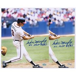 "Lot of (2) Dale Murphy Signed Braves 16x20 Photos Inscribed ""NL MVP 82, 83"" (Radtke COA)"