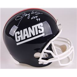 "Lawrence Taylor Signed Giants Full-Size Helmet Inscribed ""HOF 99"" (Radtke COA)"