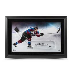 Joe Sakic Signed Avalanche 17x25 Custom Framed Acrylic Hockey Stick Blade Shadow Box Display LE 25 (