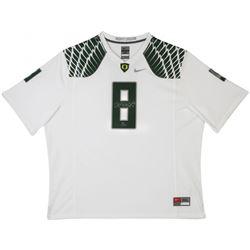 Marcus Mariota Signed Oregon Ducks LE Nike Game Jersey (UDA COA)