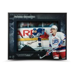"Teemu Selanne Signed Jets ""Young Guns"" 16x20x2 Custom Framed Shadow Box Display (UDA COA)"