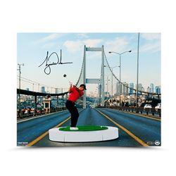 """Tiger Woods Signed LE """"The Bridge"""" 16x20 Photo (UDA COA)"""