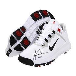 Tiger Woods Signed Authentic TW 13 Shoe (UDA COA)