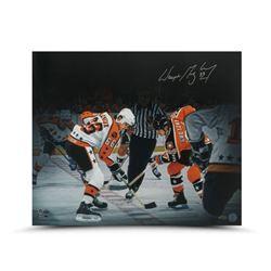 "Wayne Gretzky Signed ""All Star Faceoff"" 20x24 Photo (UDA COA)"
