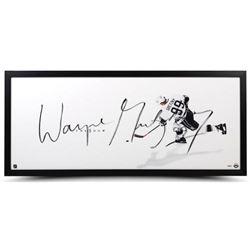 "Wayne Gretzky Signed Kings ""The Show"" 20x46 Custom Framed Photo (UDA COA)"