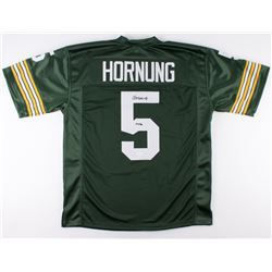 "Paul Hornung Signed Packers Jersey Inscribed ""HOF 86"" (JSA COA)"