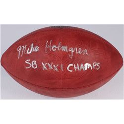 "Mike Holmgren Signed Official NFL Game Ball Inscribed ""SB XXXI Champs"" (Radtke COA)"