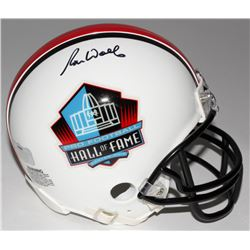 Ron Wolf Signed Hall Of Fame Mini-Helmet (Radtke COA)