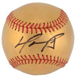 David Ortiz Signed LE 24K Gold Baseball (MLB)
