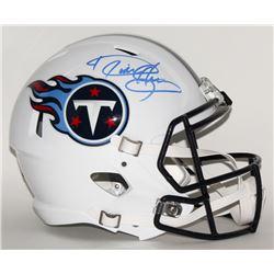 Derrick Henry Signed Titans Full-Size Speed Helmet (Radtke COA  Henry Hologram)