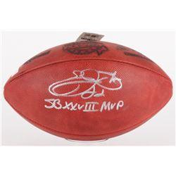 "Emmitt Smith Signed SB XXVIII Official NFL Game Ball Inscribed ""SB XXVIII MVP"" (PROVA Hologram  Smit"