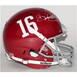 Derrick Henry Signed Alabama Crimson Tide Full-Size Helmet (Henry Hologram)
