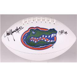 "Jack Youngblood Signed Florida Gators Logo Football Inscribed ""CHF '92"" (JSA COA)"