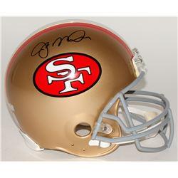 Joe Montana Signed 49ers Full-Size Authentic Helmet (Radtke COA  Montana Hologram)