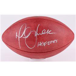"""Marshall Faulk Signed """"The Duke"""" Official NFL Game Ball Inscribed """"HOF 20XI"""" (JSA COA)"""