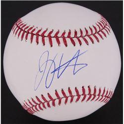 Joey Votto Signed OML Baseball (MLB Hologram)