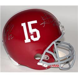 Ha Ha Clinton-Dix  Eddie Lacy Signed Alabama Crimson Tide Full-Size Helmet (JSA Hologram  Legends of