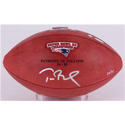 "Tom Brady Signed LE Super Bowl 51 ""The Duke"" NFL Official Game Ball (Steiner  TriStar)"
