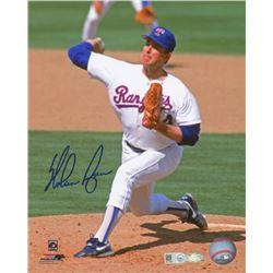 Nolan Ryan Signed Rangers 8x10 Photo (MLB Hologram)